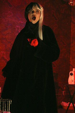 Rosalind St Pixel as Cruella de Vil