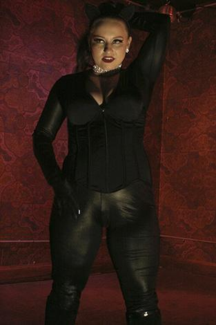 Charlotte Chartreuse as Catwoman