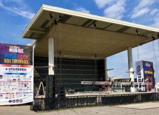 Bluesfest stage