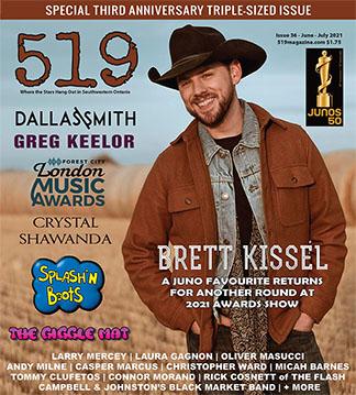 519 Magazine - June 2021 with Brett Kissel