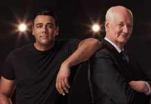 Colin Mochrie and Asad Mecci