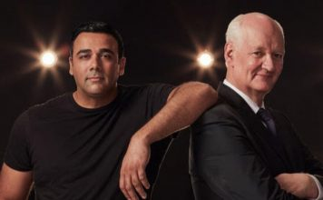 Colin Mochrie and Asad Mecci