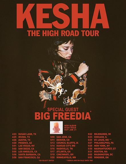 Kesha Tour
