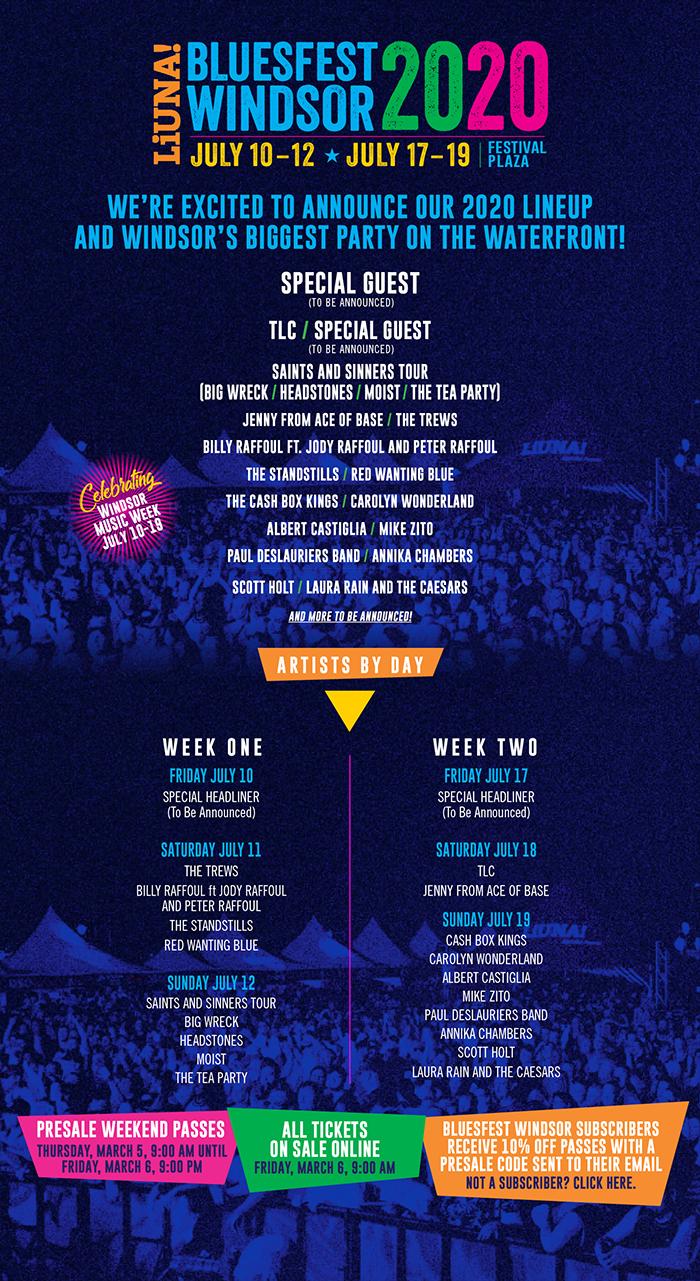 Bluesfest Windsor 2020