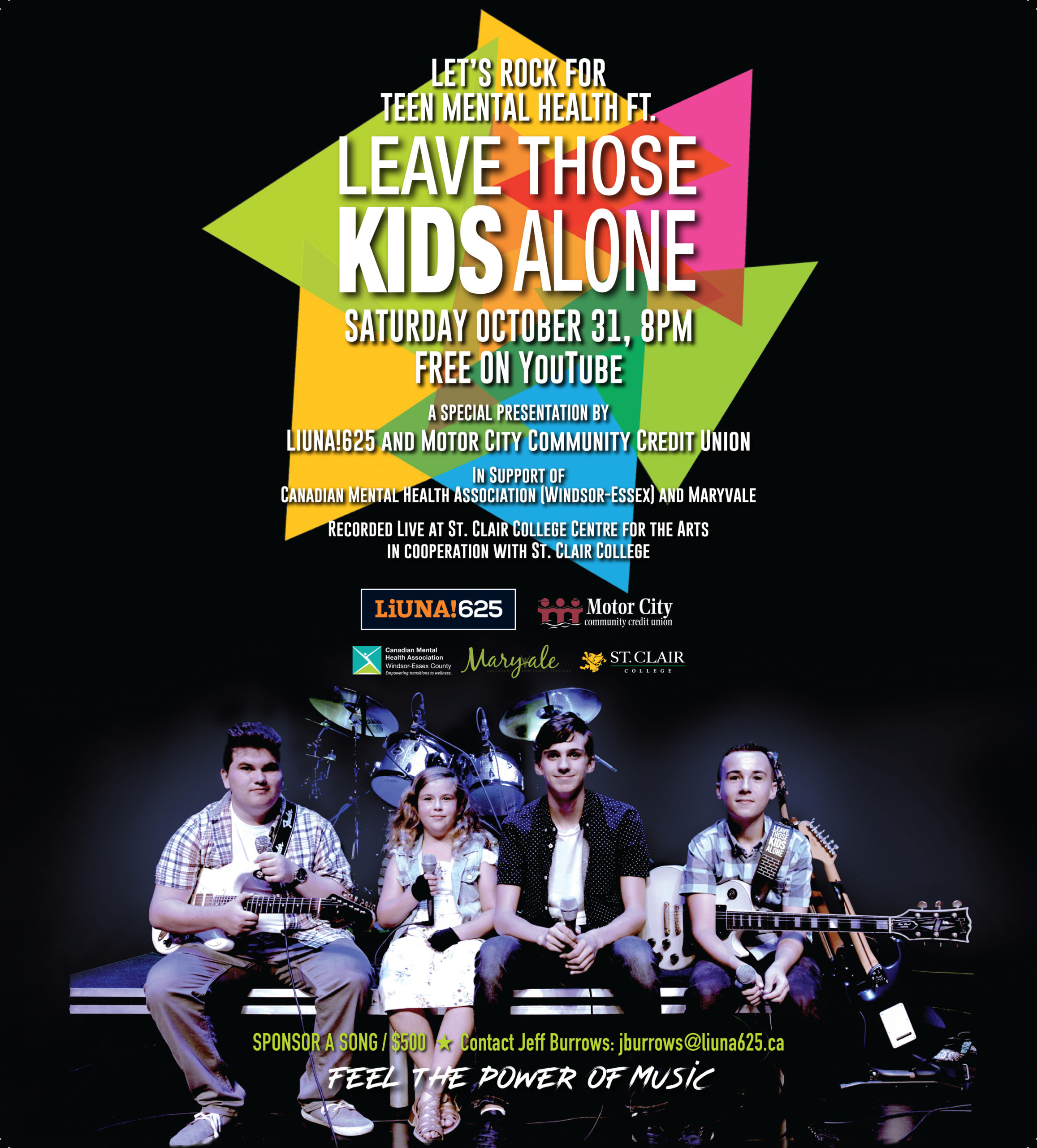 Leave Those Kids Alone - LiUNA Poster