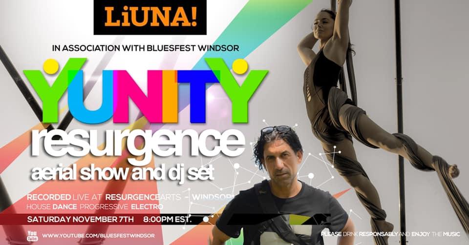 Yunity resurgence aerial show