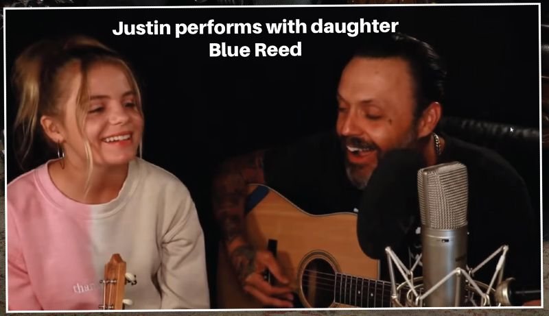 Justin and Blue Reed