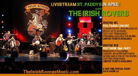 Irish Rovers Concert