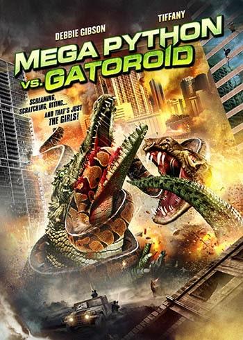 Mega Python vs. Gatoroid - Poster-min