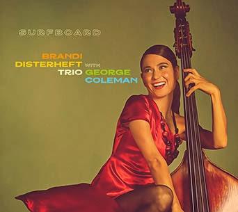Brandi Disterheft album cover-min