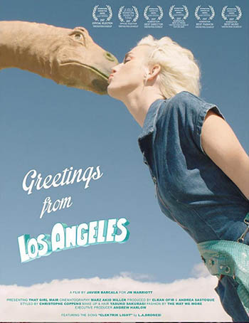 Greetings from Los Angeles - poster