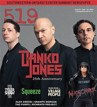 519 Issue 39 with Danko Jones